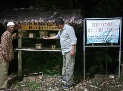 KTH Bina Lestari, Kembangkan Ternak Madu Lebah Ditengah Pandemi Corona