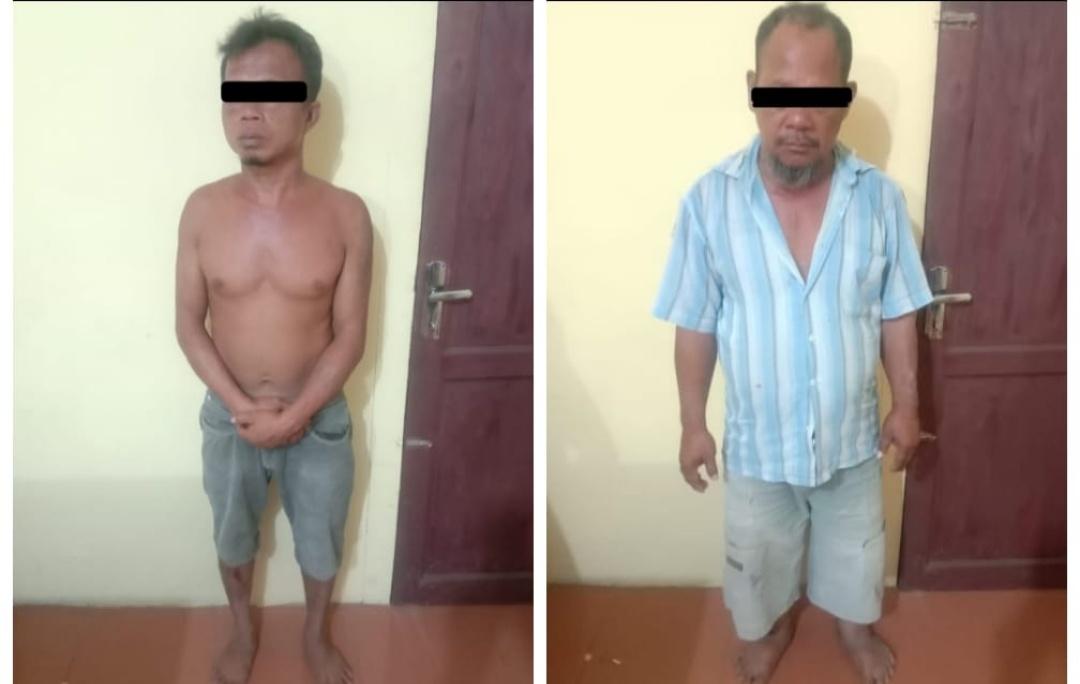 Dua Warga Deli Serdang, Halangi Polisi Tangkap Pelaku Pencurian