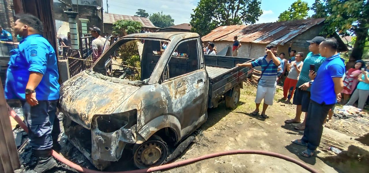 Kebakaran di Deli Serdang, Peristiwa Terjadi saat Suami Cuci Mobil dan Istri ke Salon