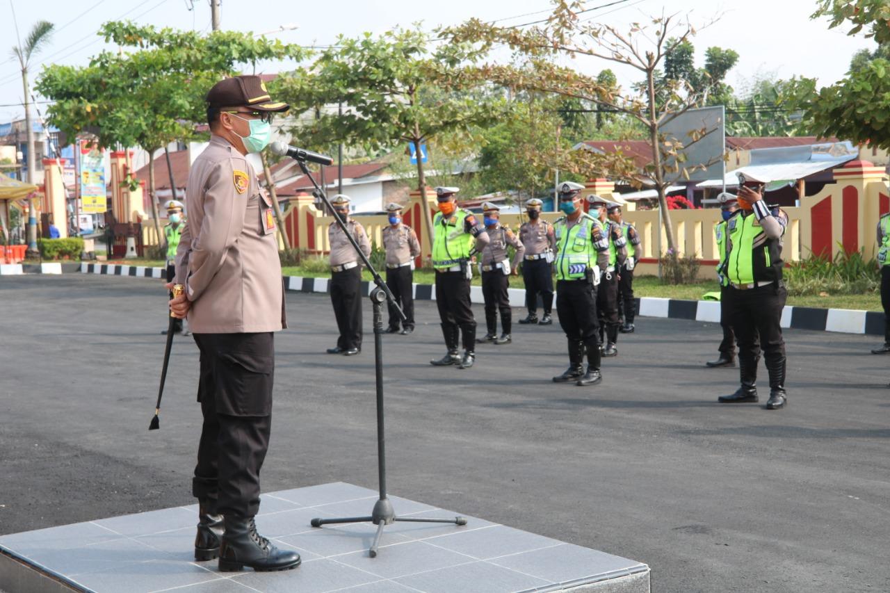 Kapolresta Deli Serdang, Perintahkan Jajarannya Profesional dalam Melayani Masyarakat