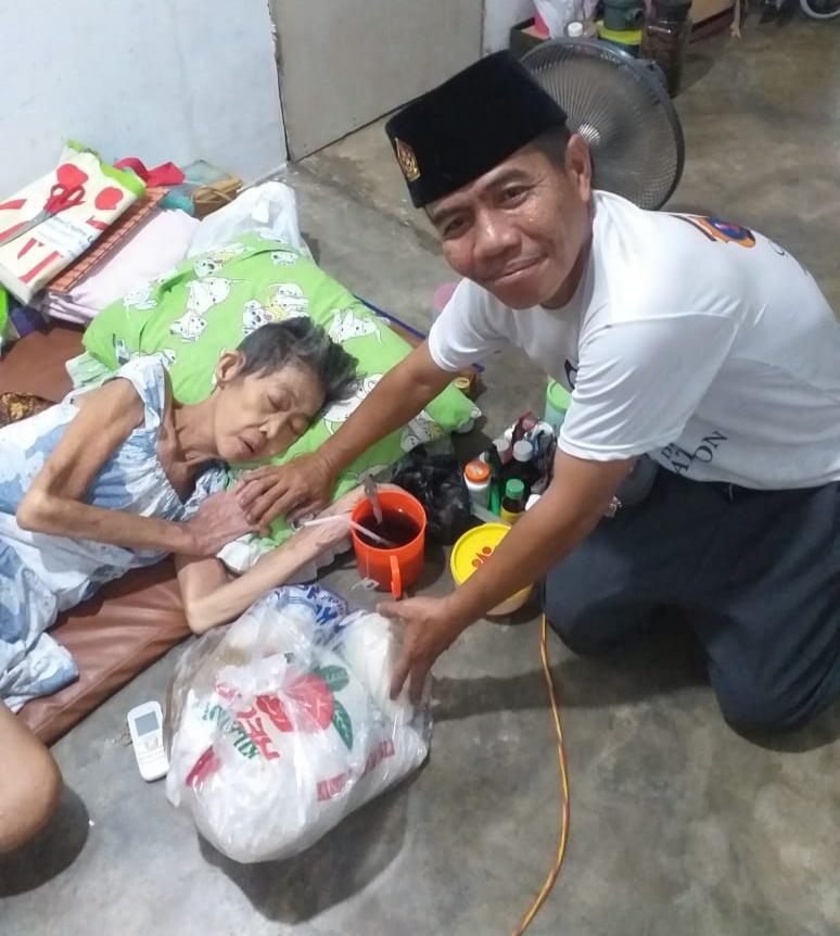 DPP RKLA Salurkan Sembako, Ustaz Martono Ucapkan Terima Kasih