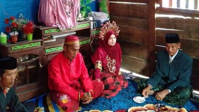 Viral Duda di Makassar Nikahi Gadis Ditengah Pandemi Corona