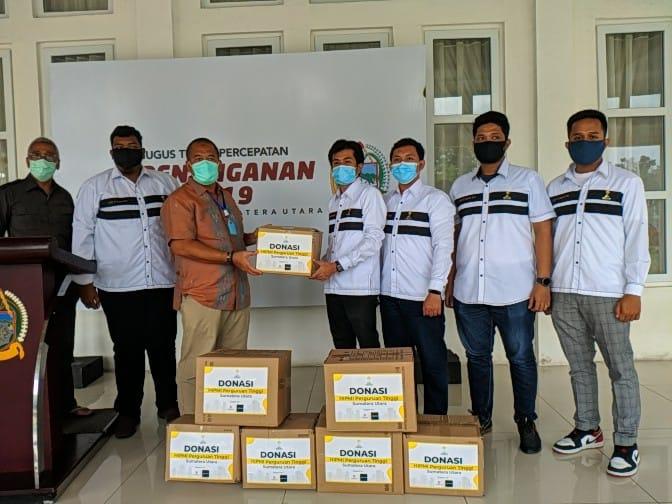 Hipmi Perguruan Tinggi Sumatera Utara, Peduli Pandemi Covid-19