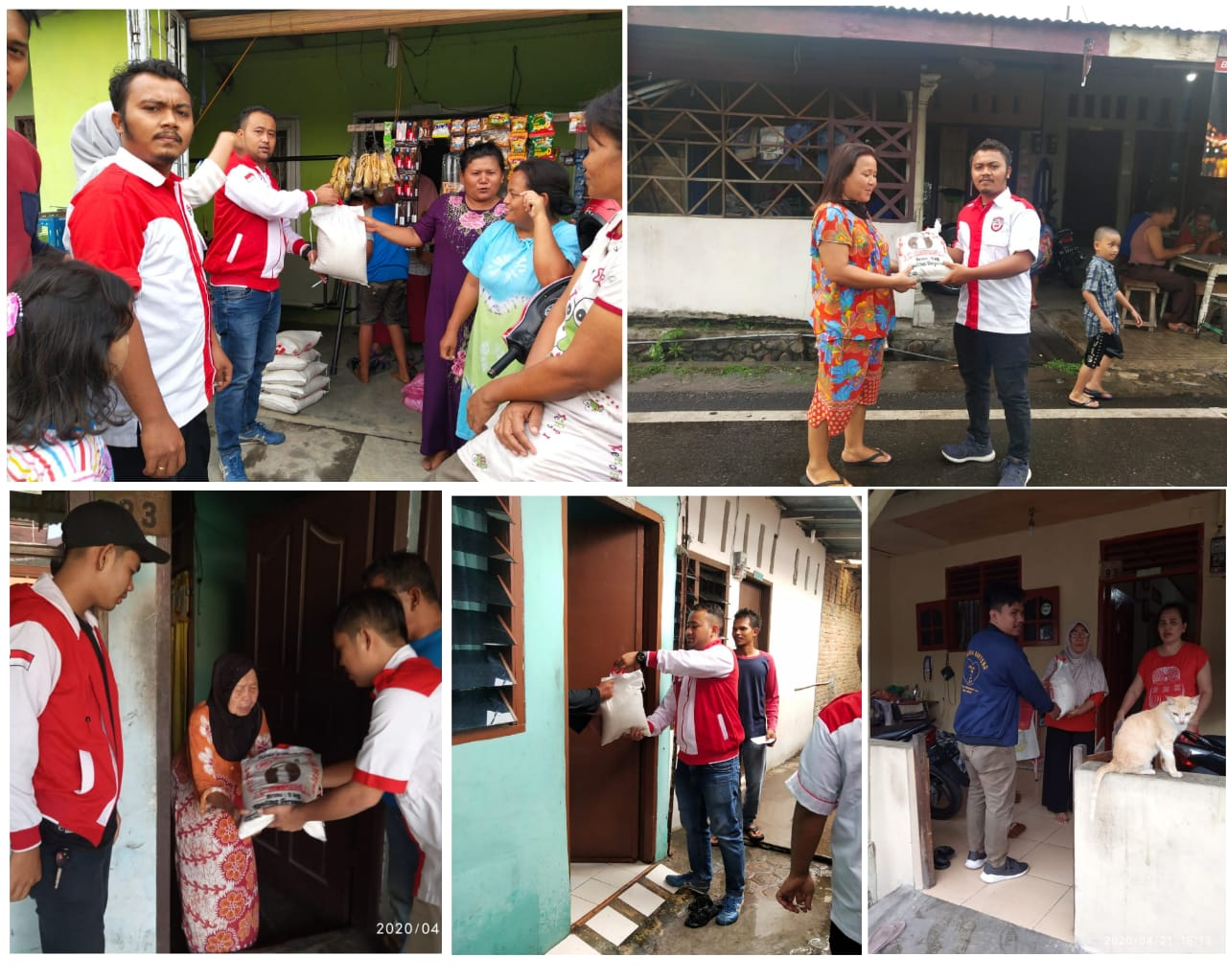 DPD Pemuda Lira Medan, Ringankan Beban Masyarakat Terdampak Virus Corona
