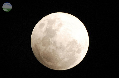 8 April 2020 Dinihari, Purnama Supermoon
