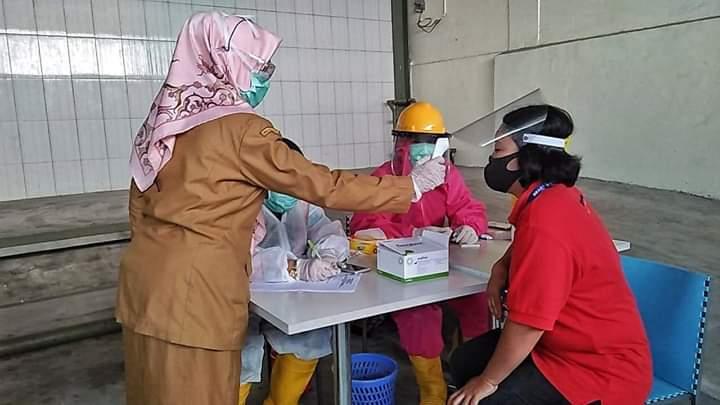 108 Karyawan Brastagi Supermarket Rapid Test, 14 Dinyatakan Positif Covid-19