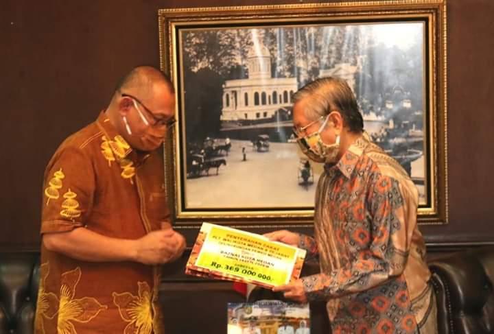 Zakat Pejabat di Pemko Medan Diserahkan ke Baznas Kota Medan