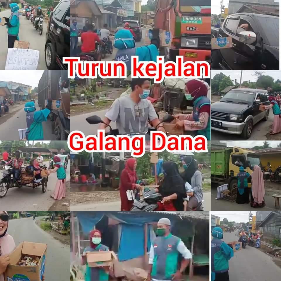 Komunitas Sabila Peduli Bencana Banjir di Kecamatan Kuala Langkat
