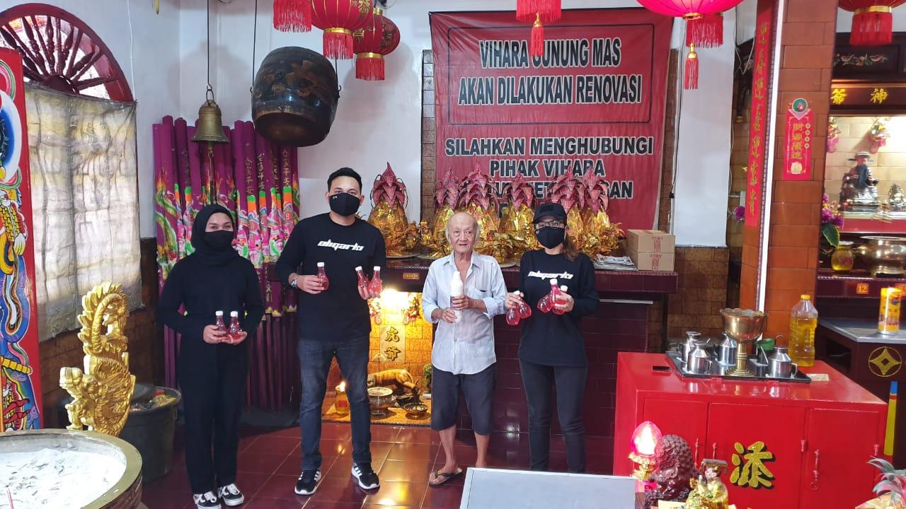 Komunitas Millenial Oligarki di Kuil Shri Mariamman, jalan Teuku Umar