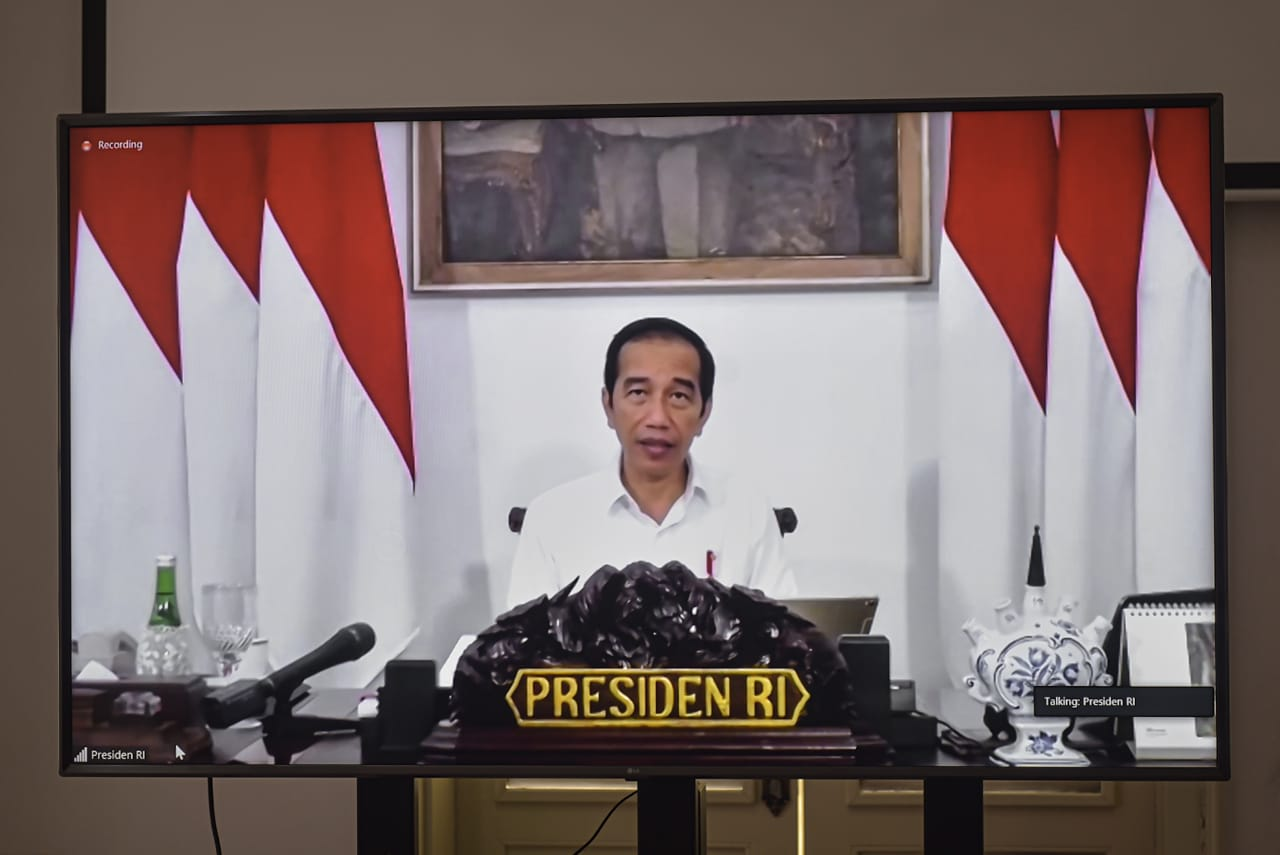 Presiden Jokowi: Prioritaskan Pelaksanaan PSN Berdampak Ekonomi Rakyat