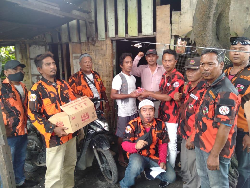 Jelang Idul Fitri, Pemuda Pancasila Medan Deli Bagikan Paket Sembako ke Masyarakat