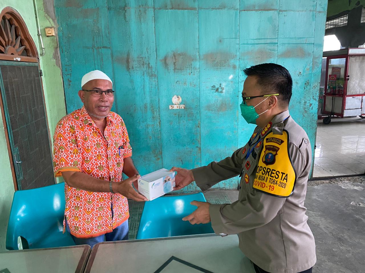Kapolresta Deli Serdang, Sapa Tokoh Masyarakat untuk Jaga Kondusifitas