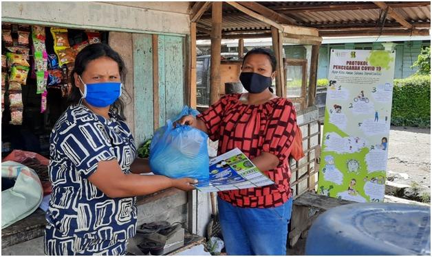 Pandemi Covid-19, PKPA Distribusikan Ratusan Paket Sembako di Karo