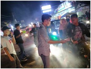 Mahasiswa dan Pemuda Batu Bara, Beri Sinyal Siap Terjun Melakukan Upaya Penanganan Covid-19