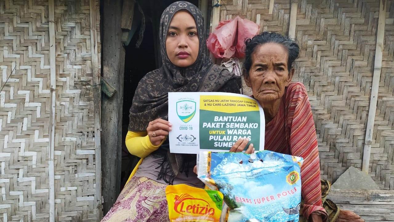 NU Jatim, Jangkau Sejuta Paket Sembako di Kawasan Kepulauan Sumenep