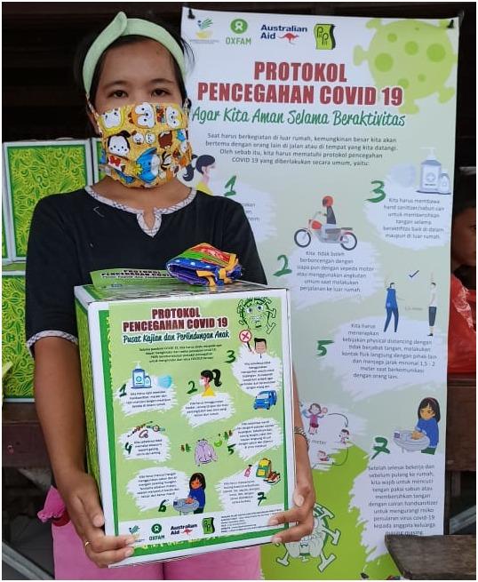 PKPA Distribusi Paket Hygiene Kit kepada 165 Keluarga di Kota Medan