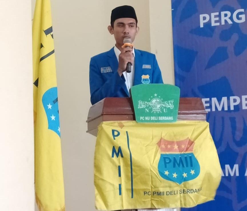 PMII Deli Serdang, Minta Bupati Pecat Kades yang Selewengkan Dana BLT
