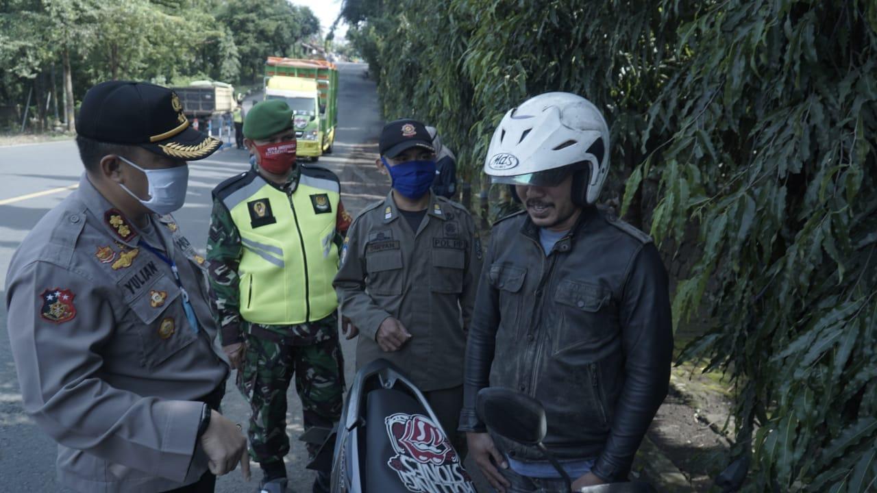 PSBB di Banjar, Masih Ada Warga Mengindahkan Kebijakan Pemerintah
