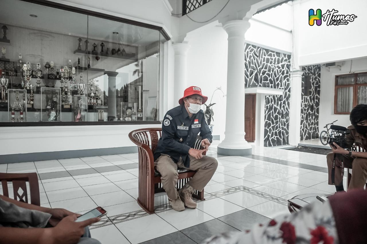 PSBB di Ciamis, Pemkab Berikan Tunjangan Kinerja untuk Guru dan Imam Masjid