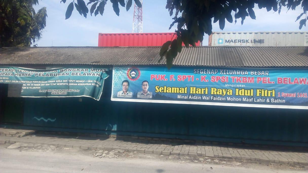 Gaji Buruh TKBM Pelabuhan Belawan, Belum Dibayar Selama 4 Bulan