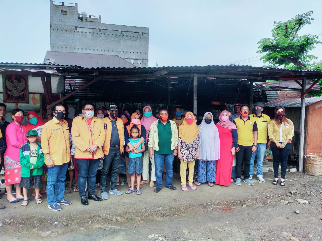 Partai Hanura Medan Barat, Memberikan Tali Asih kepada Rakyat Terdampak Covid-19