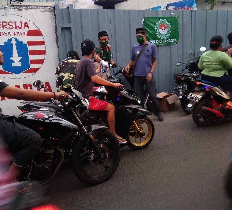 Pejuang Islam Nusantara DKI Jakarta, Melanjutkan Aksi Berbaginya di Tengah Covid-19