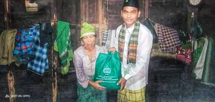 Pejuang Islam Nusantara Padang Lawas, Berbagai Sembako kepada Masyarakat yang Membutuhkan