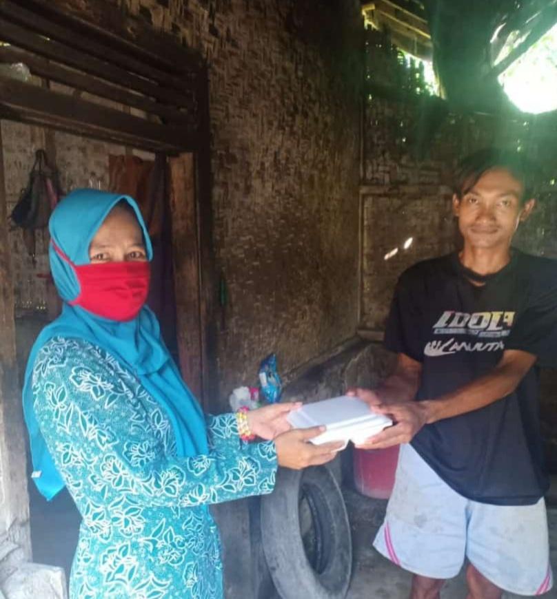Pemerintah Desa Kertahayu, Dirikan Dapur Umum untuk Buka Puasa