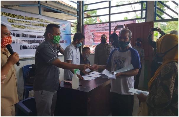 Penyaluran BLT Dana Desa Bulan Pertama di Simalungun Tuntas