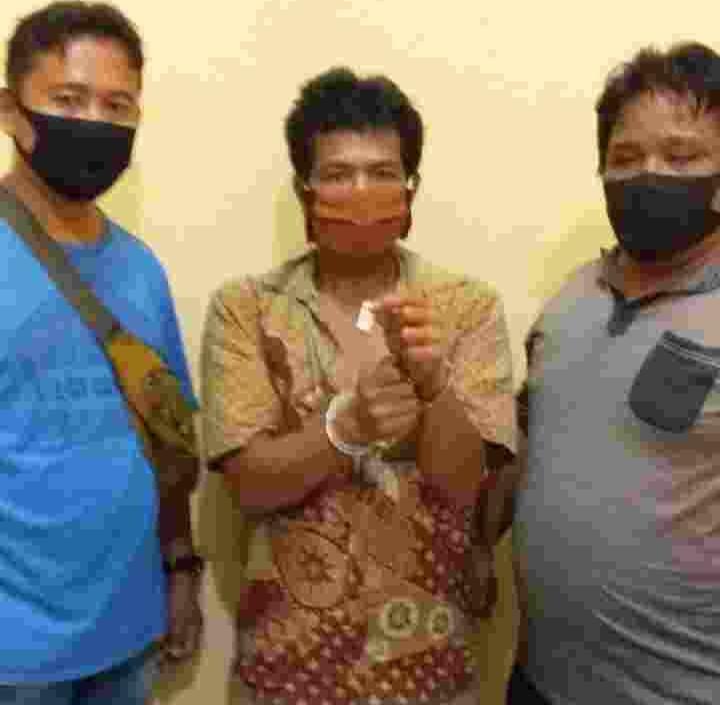 Polsek Perbaungan, Ringkus Kurir Sabu Tunggu Pemesan di Depan Mushola