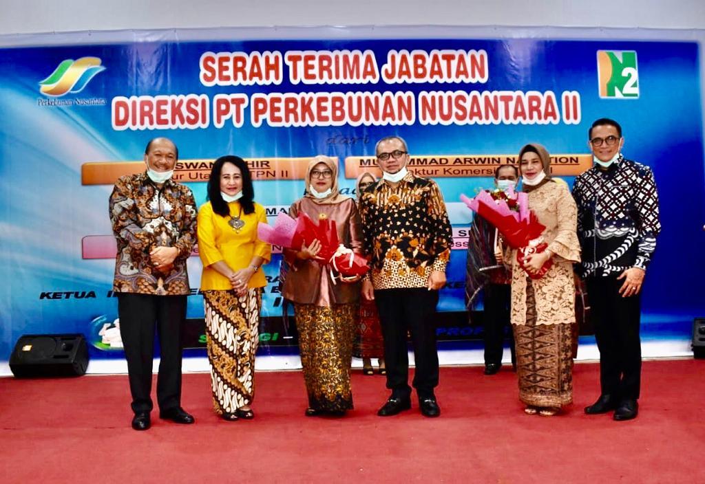 Serah Terima Jabatan Direksi PTPN II di Puri Triadiguna