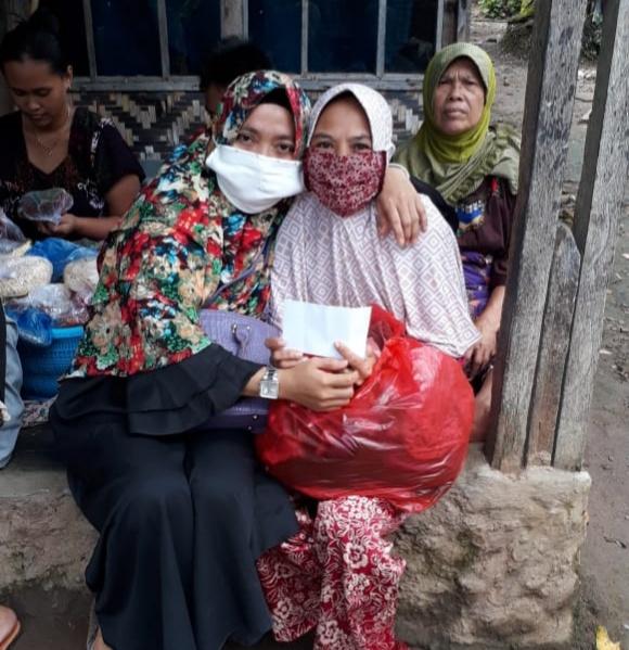 Srikandi Pejuang Islam Nusantara, Bagikan Bantuan Langsung kepada Anak Yatim dan Dhuafa