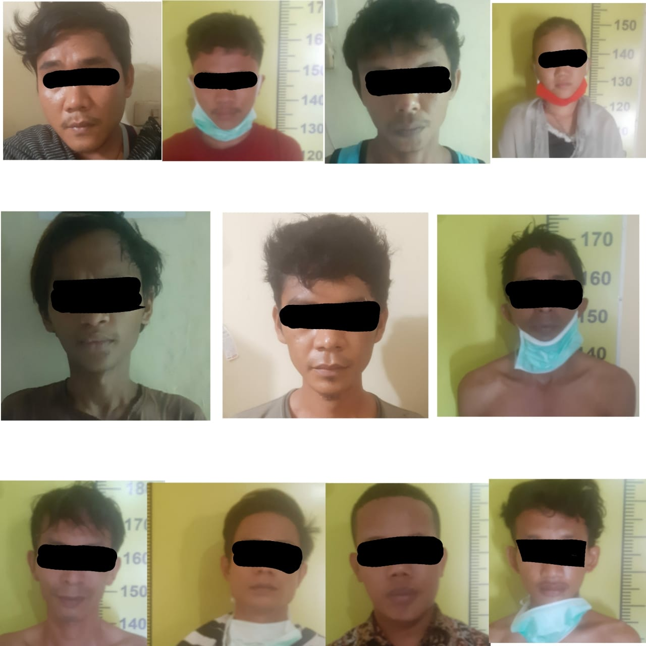 11 Pemakai Narkoba di Tanjung Morawa Diamankan Polisi, Berawal dari Pungli