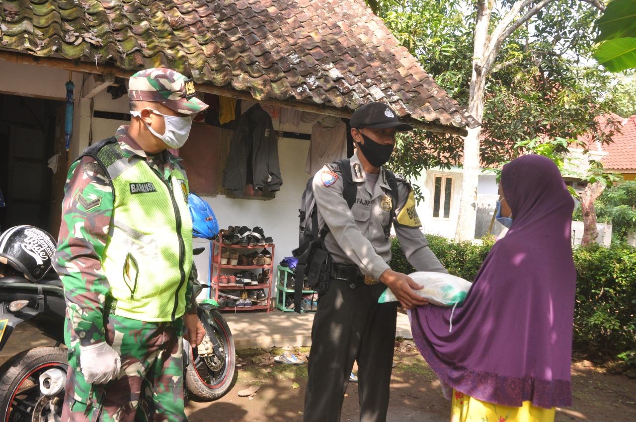 Polres Banjar, Laksanakan Gerakan Bakti Sosial Polri Peduli Covid-19