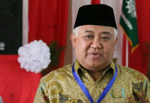 Din Syamsuddin: Larang Salat di Masjid Tapi Bandara Numpuk