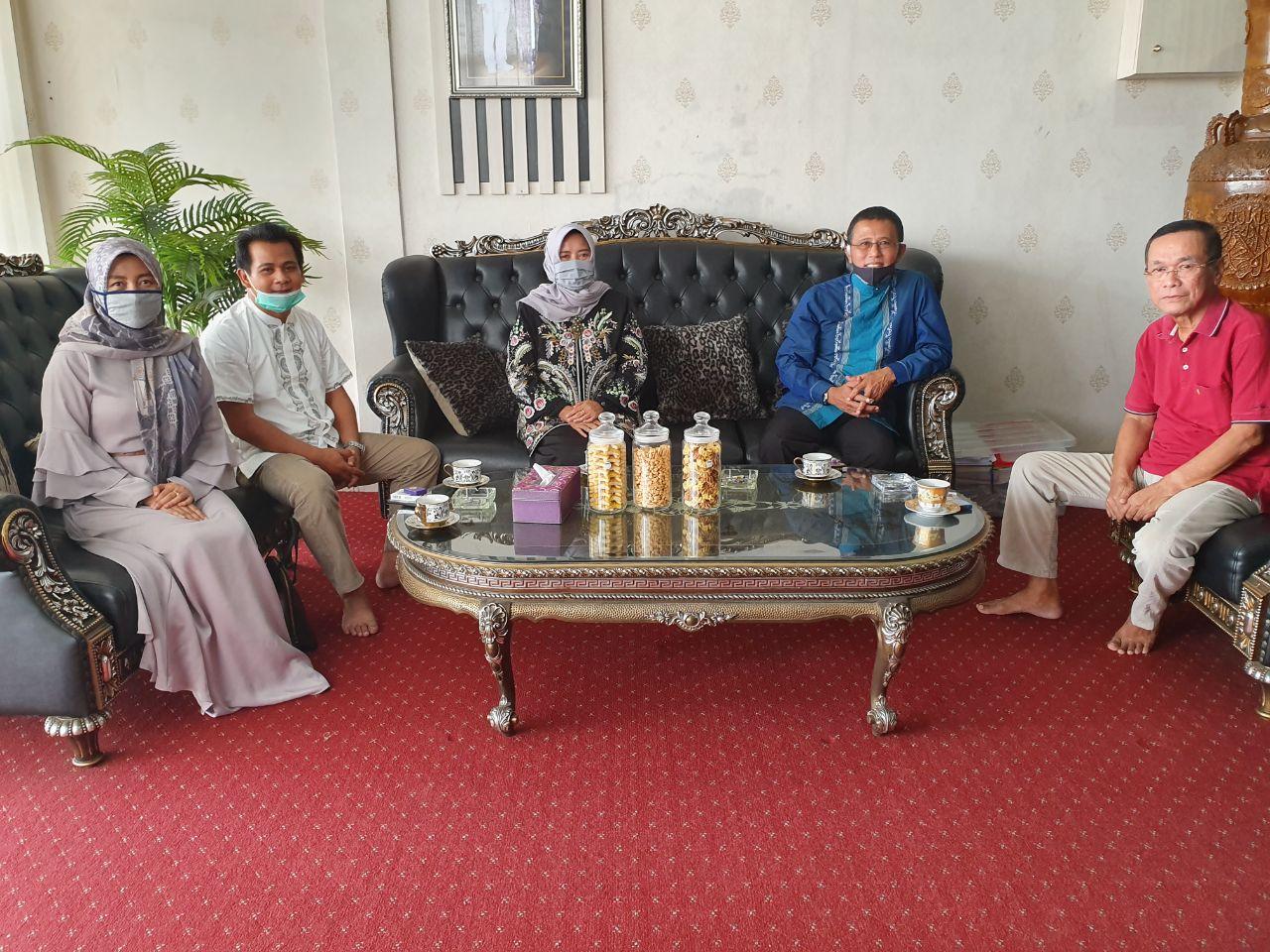Bupati Ciamis Herdiat Sunarya, Jadikan Idul Fitri sebagai Momen Silaturahmi dengan Mantan Bupati Ciamis periode 2014-2019