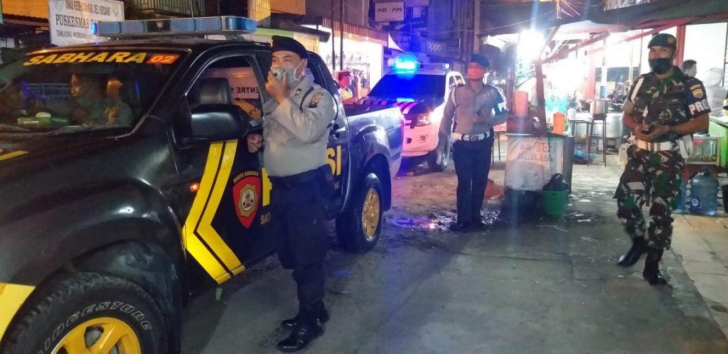 Polresta Deli Serdang, Amankan Malam Idul Fitri dan Himbau Warga Cegah Covid-19