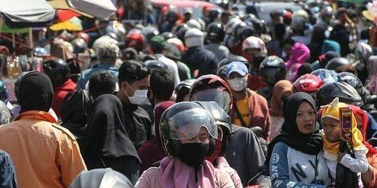 Sehari Jelang Lebaran, Masyarakat Padati Pasar