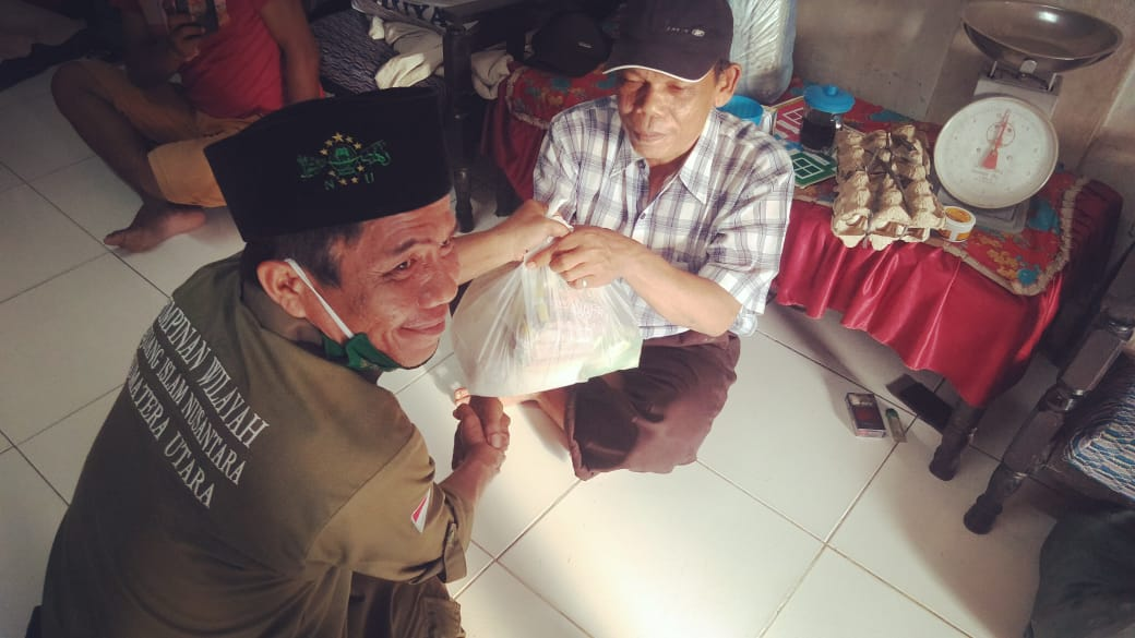 Pejuang Islam Nusantara Sumatera Utara, Berikan Bantuan kepada Penyandang Disabilitas