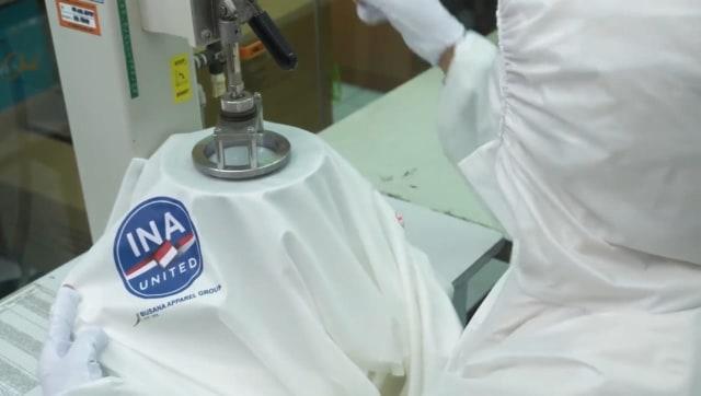 Indonesia Produksi Baju APD Standar WHO