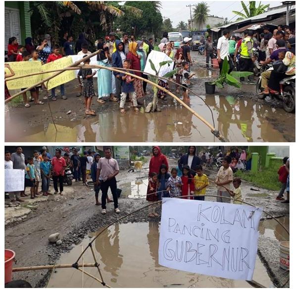Jalan Hamparan Perak Rusak, DPRD Sumut Berharap Pemprov Segera Laksanakan