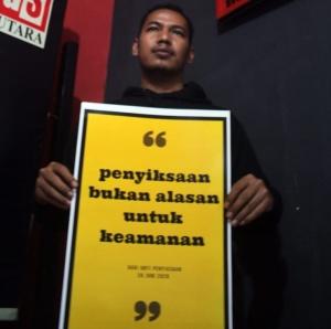 Hari Anti Penyiksaan, Kontras Sumut Penyiksaan Bukan Solusi Penegakan Hukum (5)