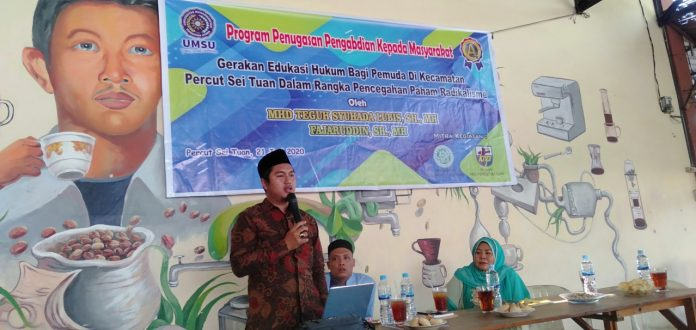 PKM Dosen FH UMSU, Edukasi Pemuda Cegah Radikalisme