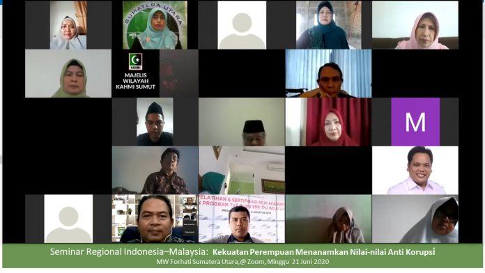 Menuntaskan Korupsi Dalam Politik Melalui Kekuatan Perempuan (Catatan Webinar Forhati Sumut)