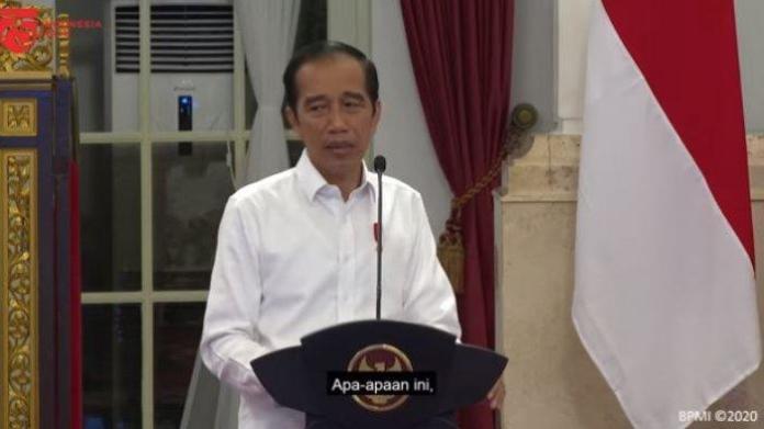 Wanti-wanti Reshuffle dari Jokowi di Hadapan Para Menteri