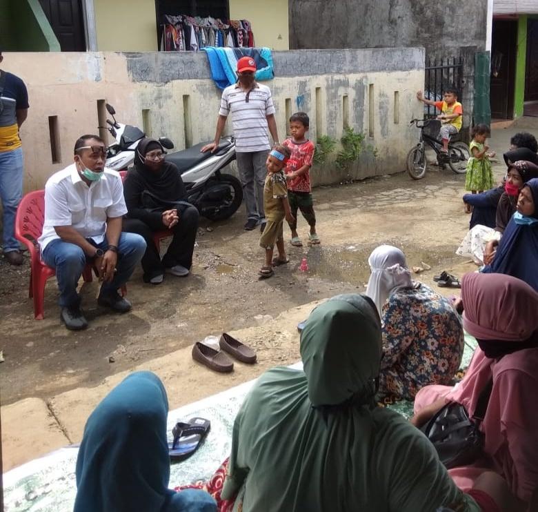 Ketua Komisi II DPRD Medan, Kunjungi Masyarakat untuk Cek Bantuan Pemerintah