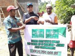 PCINU Jerman Bantu Pembangunan Masjid di Papua Barat
