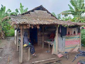 Pejuang Islam Nusantara Sumut, Sambangi Rumah Pasuntri yang Tinggal di Gubuk (2)