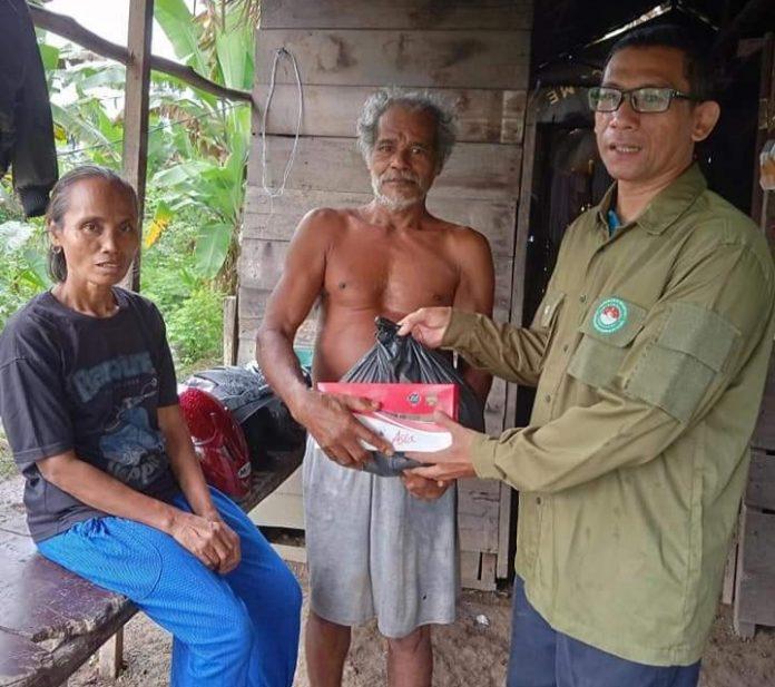 Pejuang Islam Nusantara Sumut, Sambangi Rumah Pasuntri yang Tinggal di Gubuk