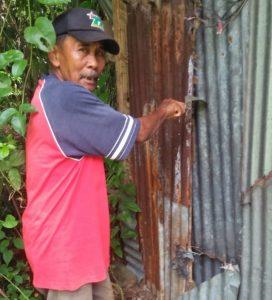 Kepala Desa Sei Siur Langkat, Inisiasi Pembangunan Rumah Kecil Layak Huni